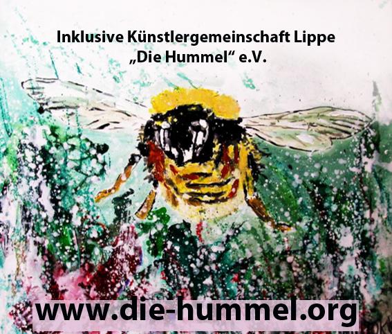 """""""Von Innen nach Aussen""""   Die Hummel e.V.   1.11.16-6.1.17  Klinik-Foyer"""