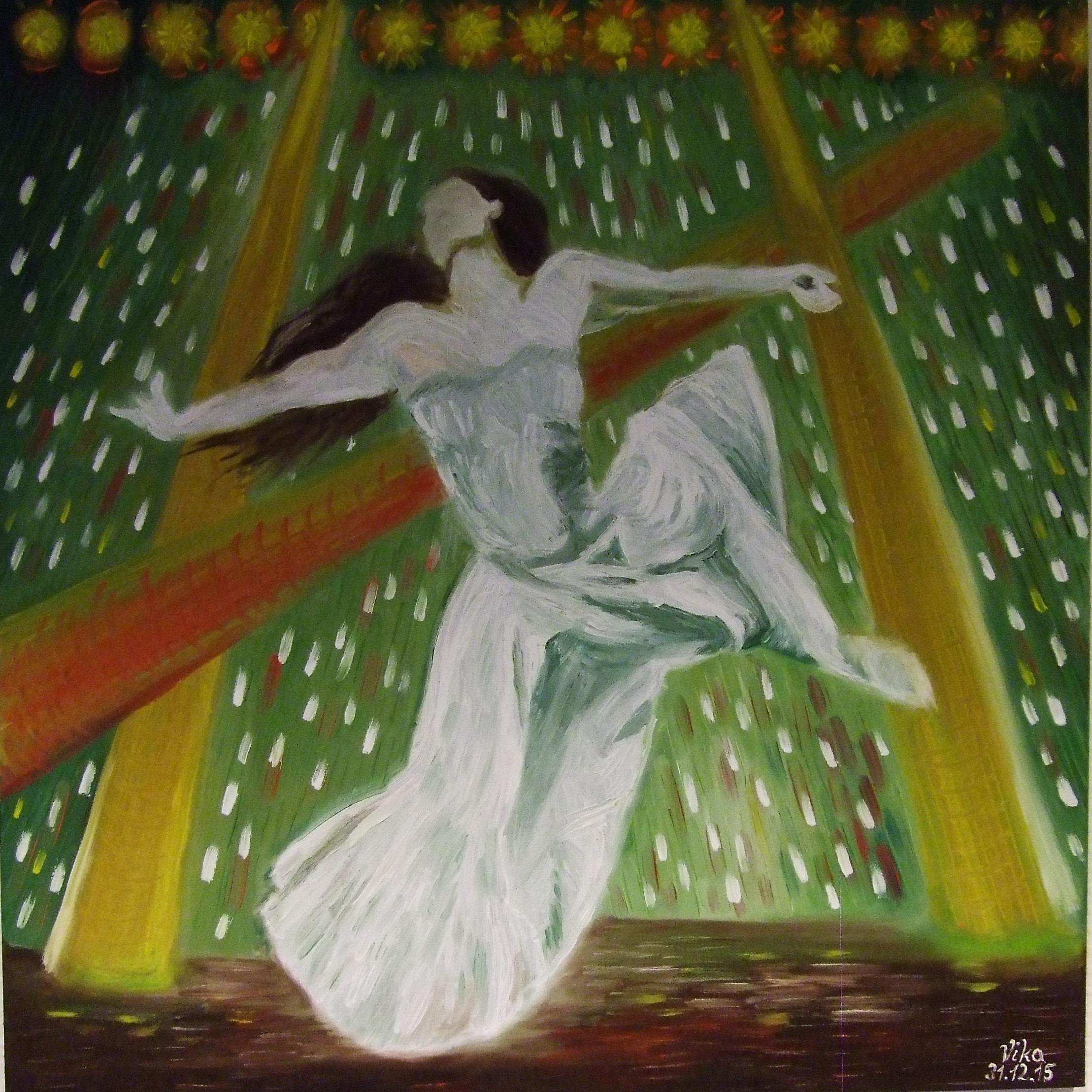Grauschwarzweiß und Grün ist eine grünende Farbe Ausstellung Viktoria Reitz 5.9.17 – 31.10.17 Klinik Foyer