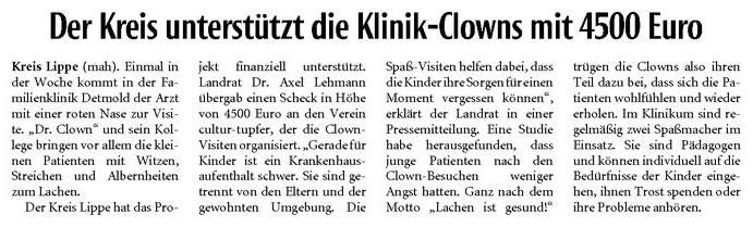 KreisClownsSpende